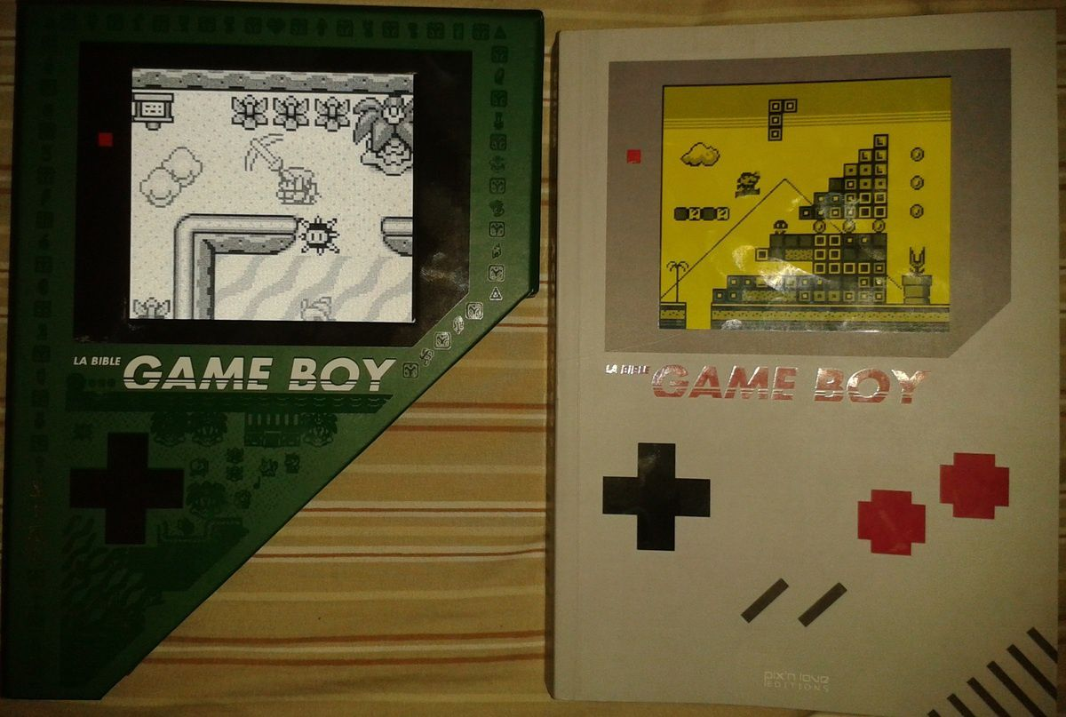 Bible Game Boy édition collector ZELDA