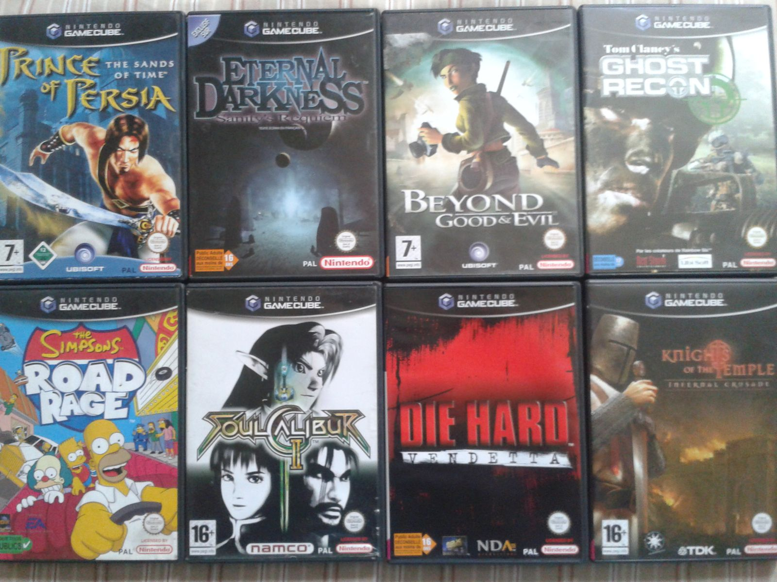 collection GAMECUBE