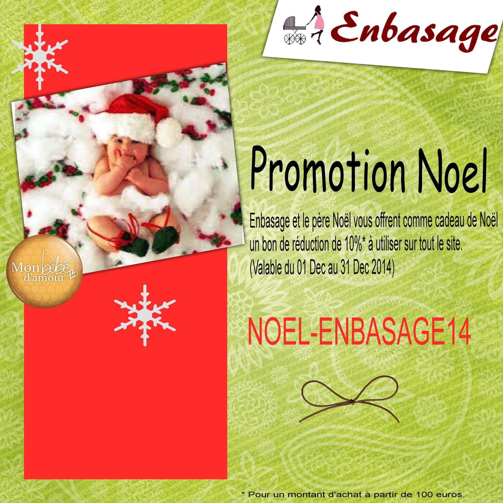 Code promo de 10% pour Noel , On en Profite !