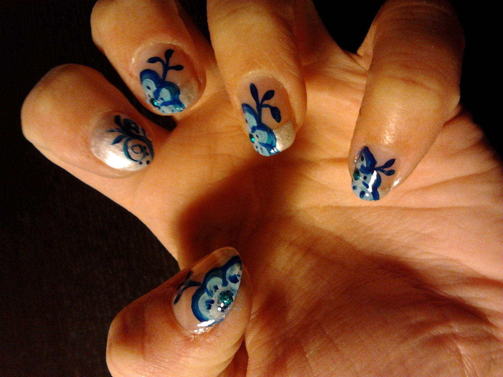 Blues flowers
