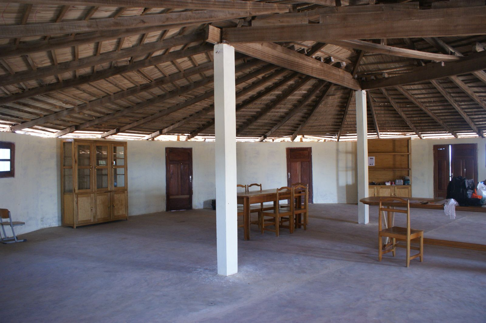 La grande case de l'école Soxna Beye