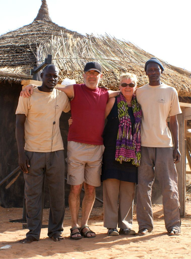 Photos souvenirs avec Michèle et Patrick Le Goff!