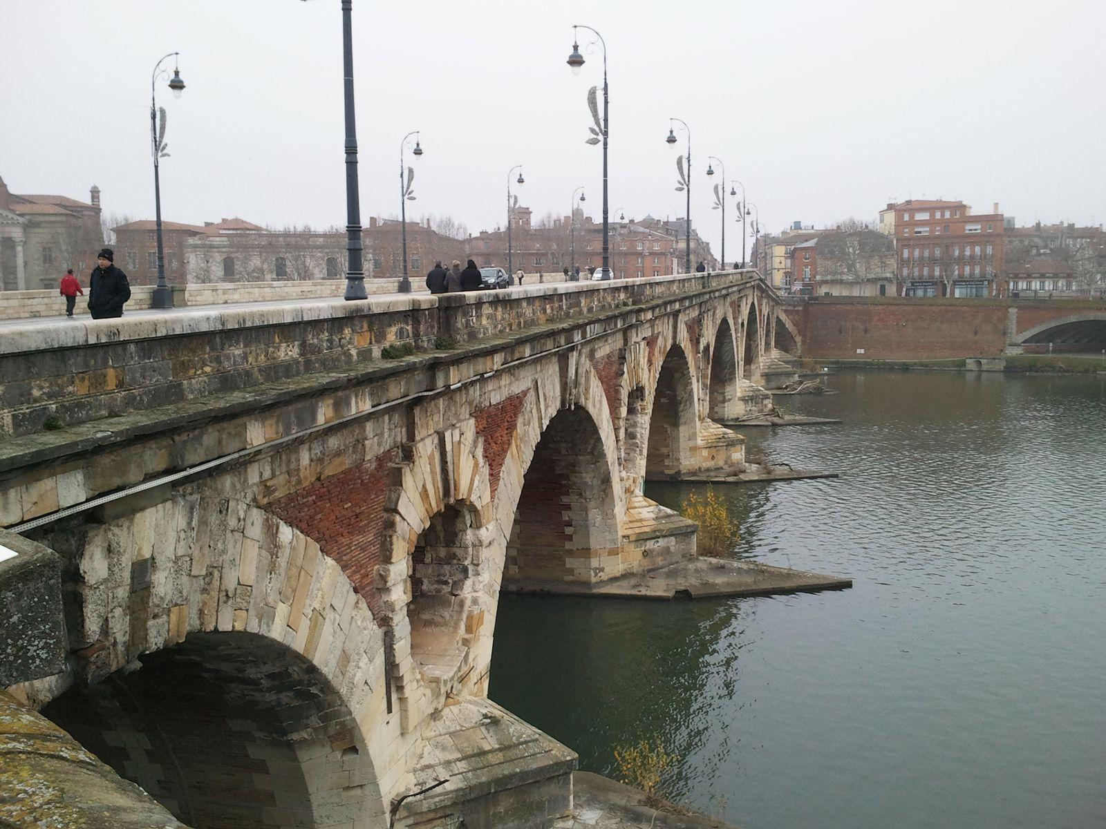 passion de photographe: Le pont neuf de Toulouse