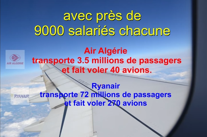&quot&#x3B;Air Algérie&quot&#x3B; Vs &quot&#x3B;Ryanair&quot&#x3B;