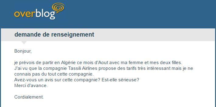 Vols Tassili Airlines / Trans-Atlantic annulés : Le CCTA relance le Ministre et les directeurs des compagnies