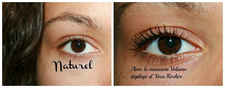 J'ai testé le mascara Volume Déployé waterproof d' Yves Rocher