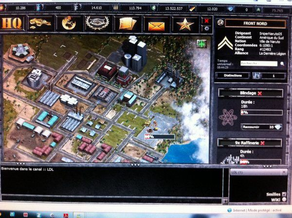 Urban game, le jeu de tank en ville