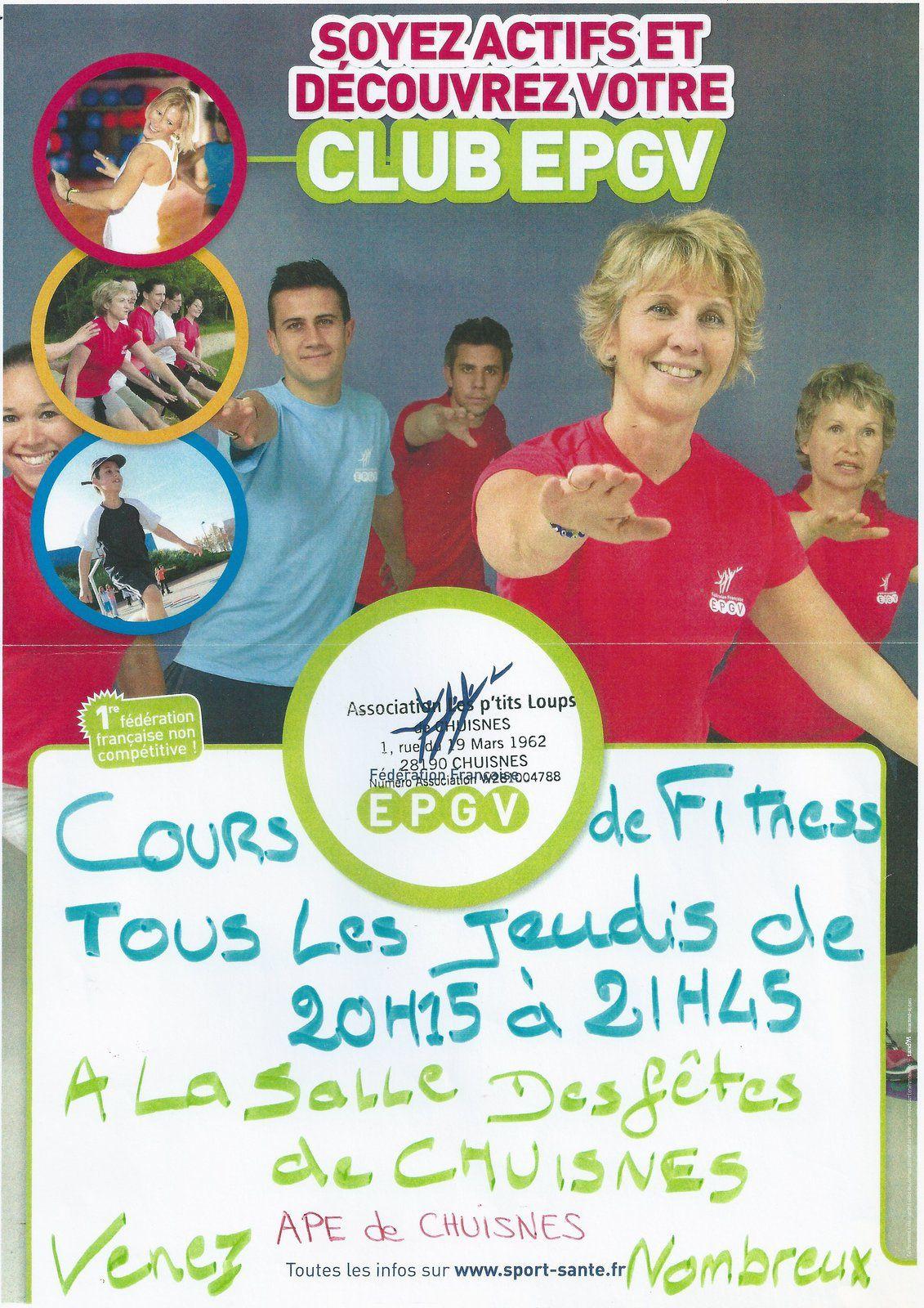 Cours de Fitness 2015-2016