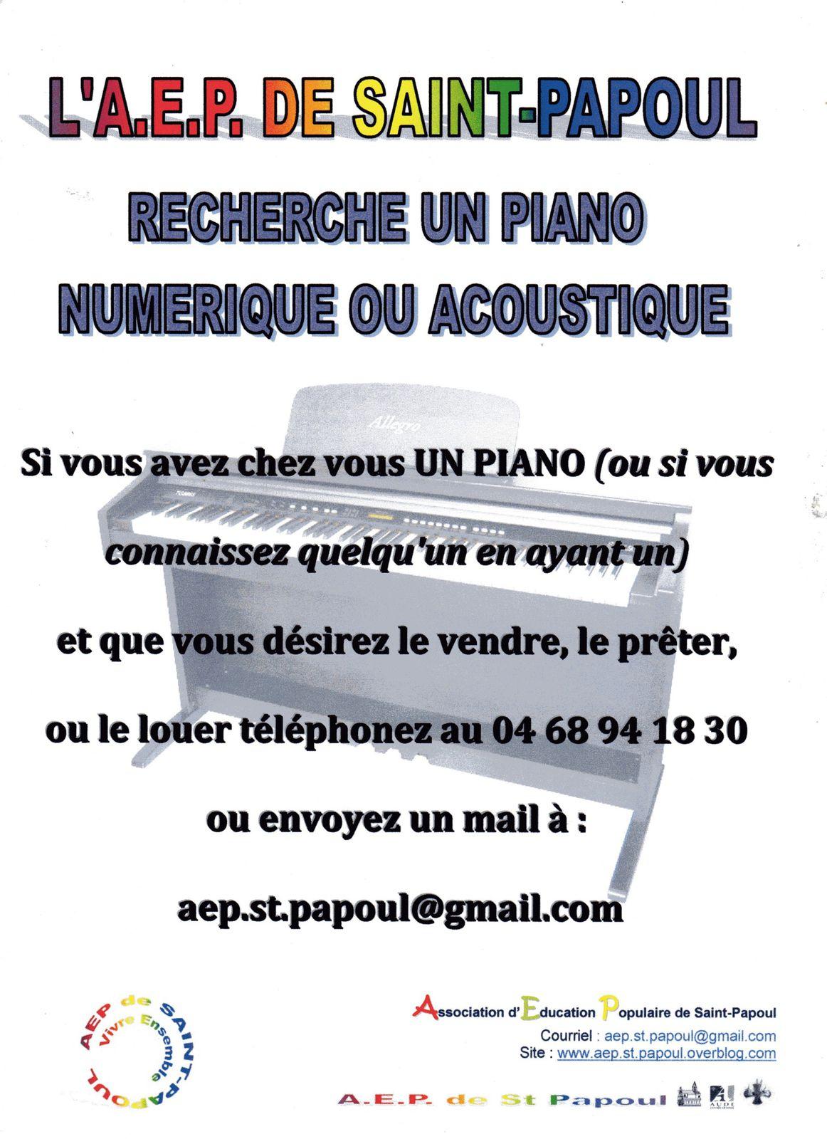 Recherche piano