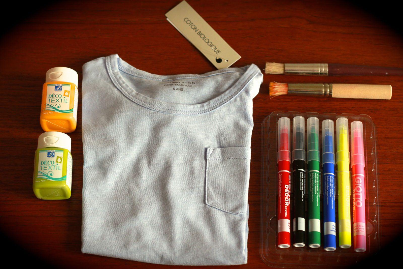 T-shirt enfant ananas style!