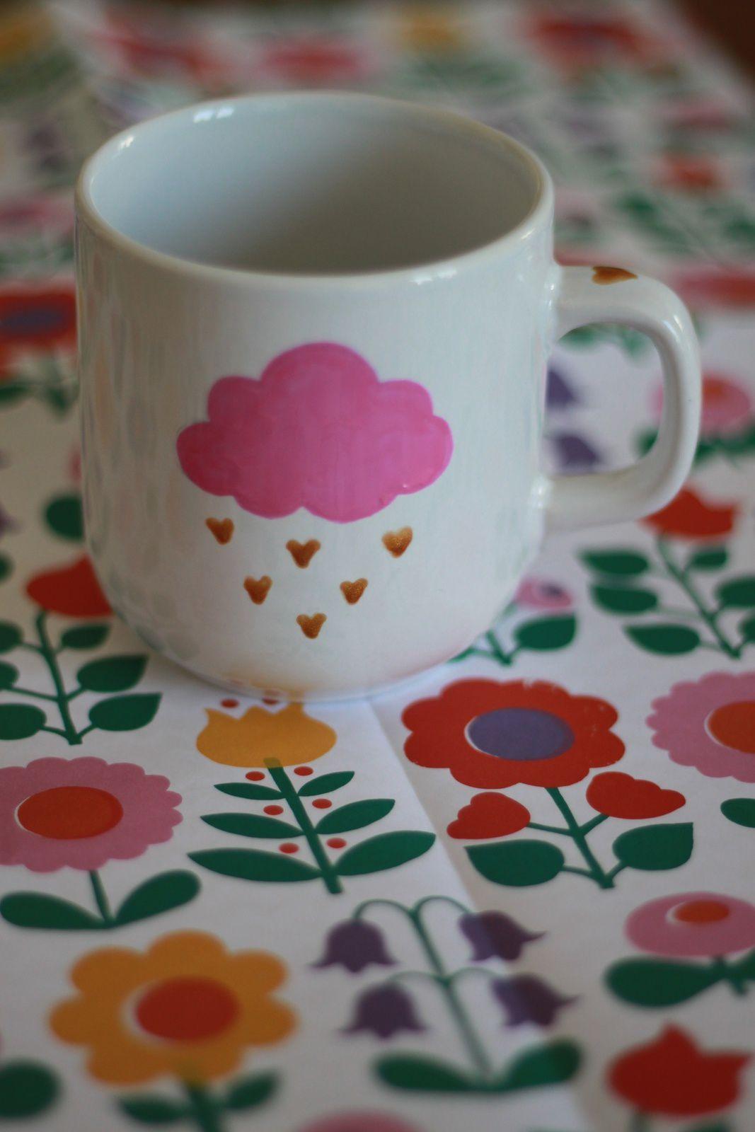 Favori DIY #5: Tasse pour Mamanc'est la fête des mères  LM06