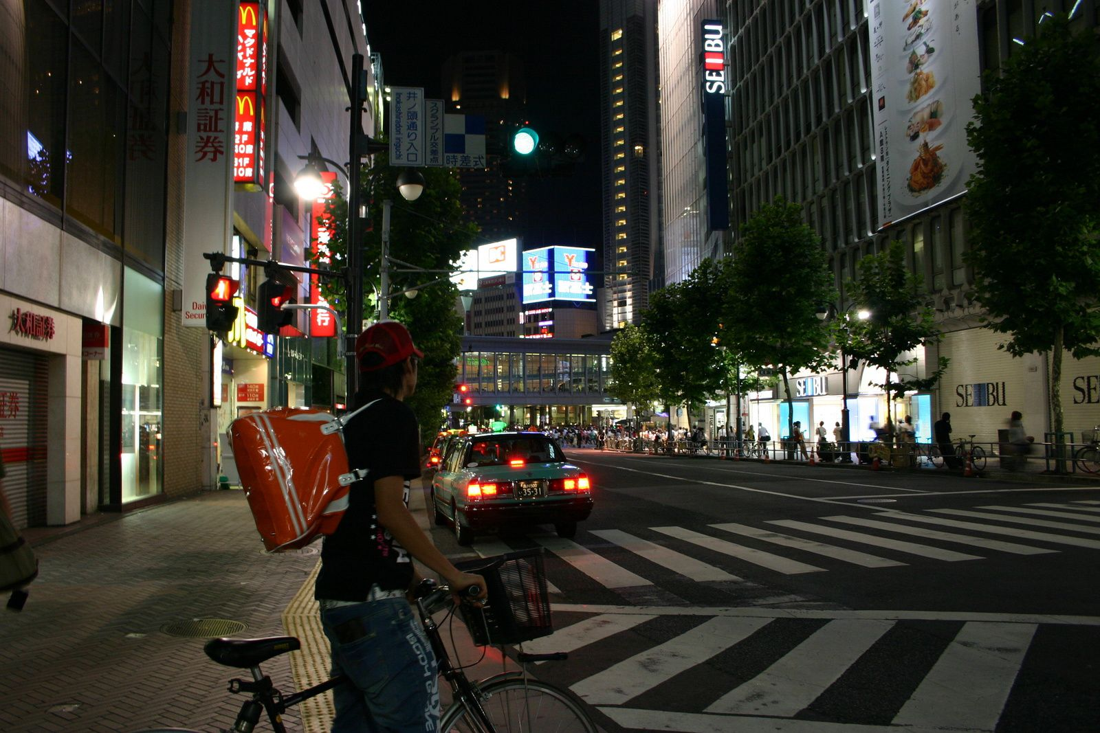 Tokyo by day and night...