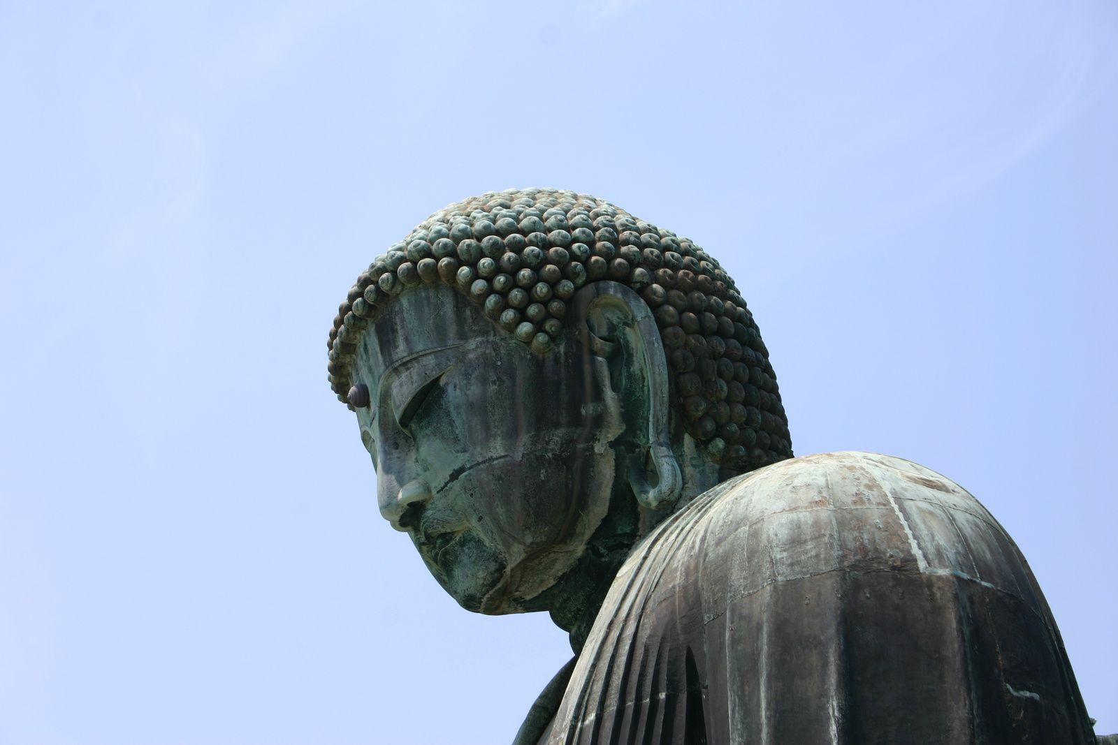 Grand Bouddha de Bronze Daibutsu, à Kamakura ancienne citée impériale