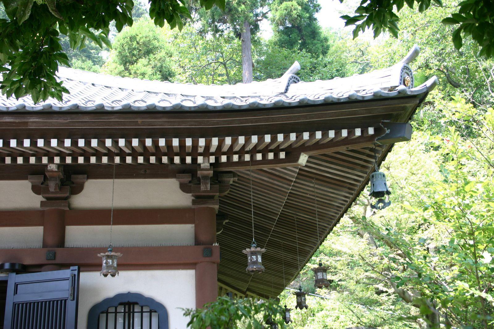 Kamakura, Temple Hase Kannon avec vue sur l'océan Pacifique....et visite du Grand Bouddha de bronze