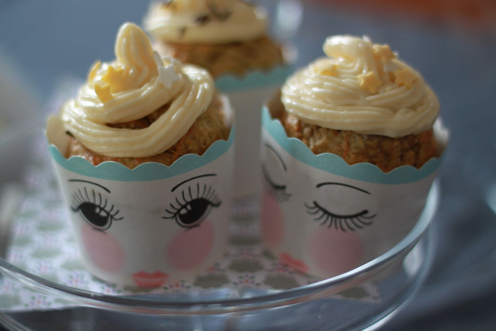 Petits carrots cupcakes...!!! Un côté surréaliste que j'adore!