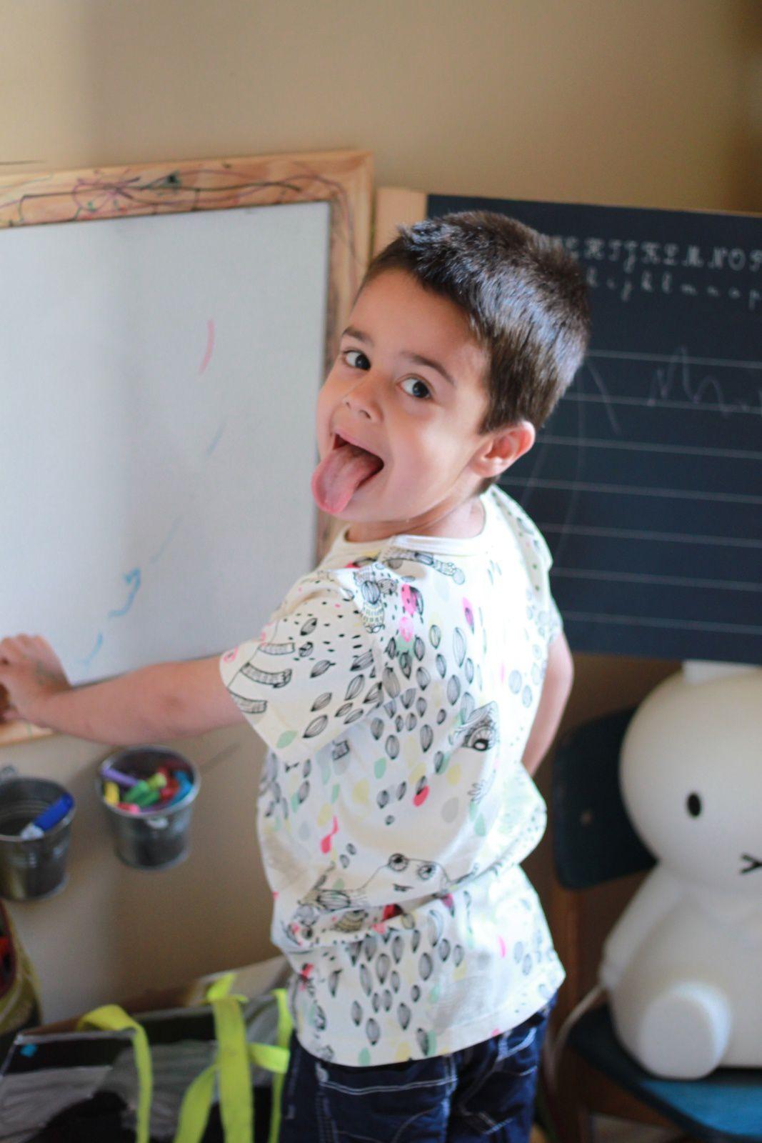 William le clown...T-shirt trouvé chez Lilli Bulle =^^=