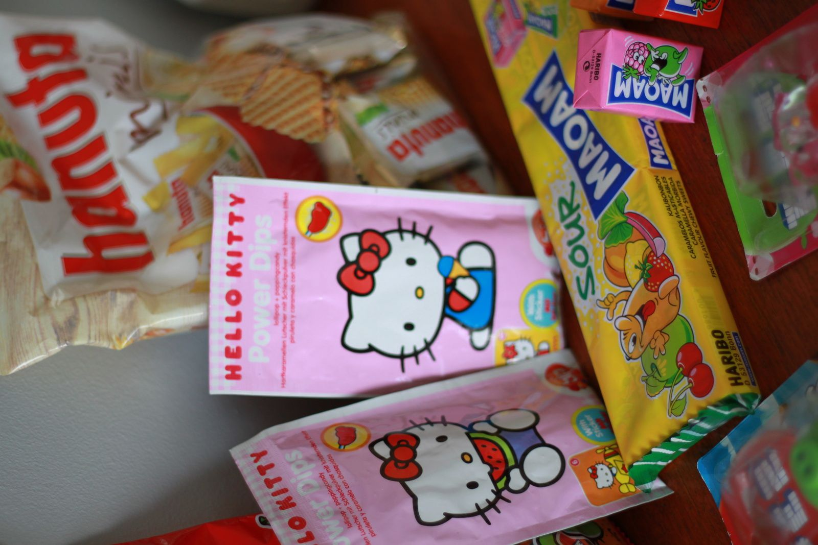 Pez, Hello Kitty et cie...Merci Haribo et Ferrero