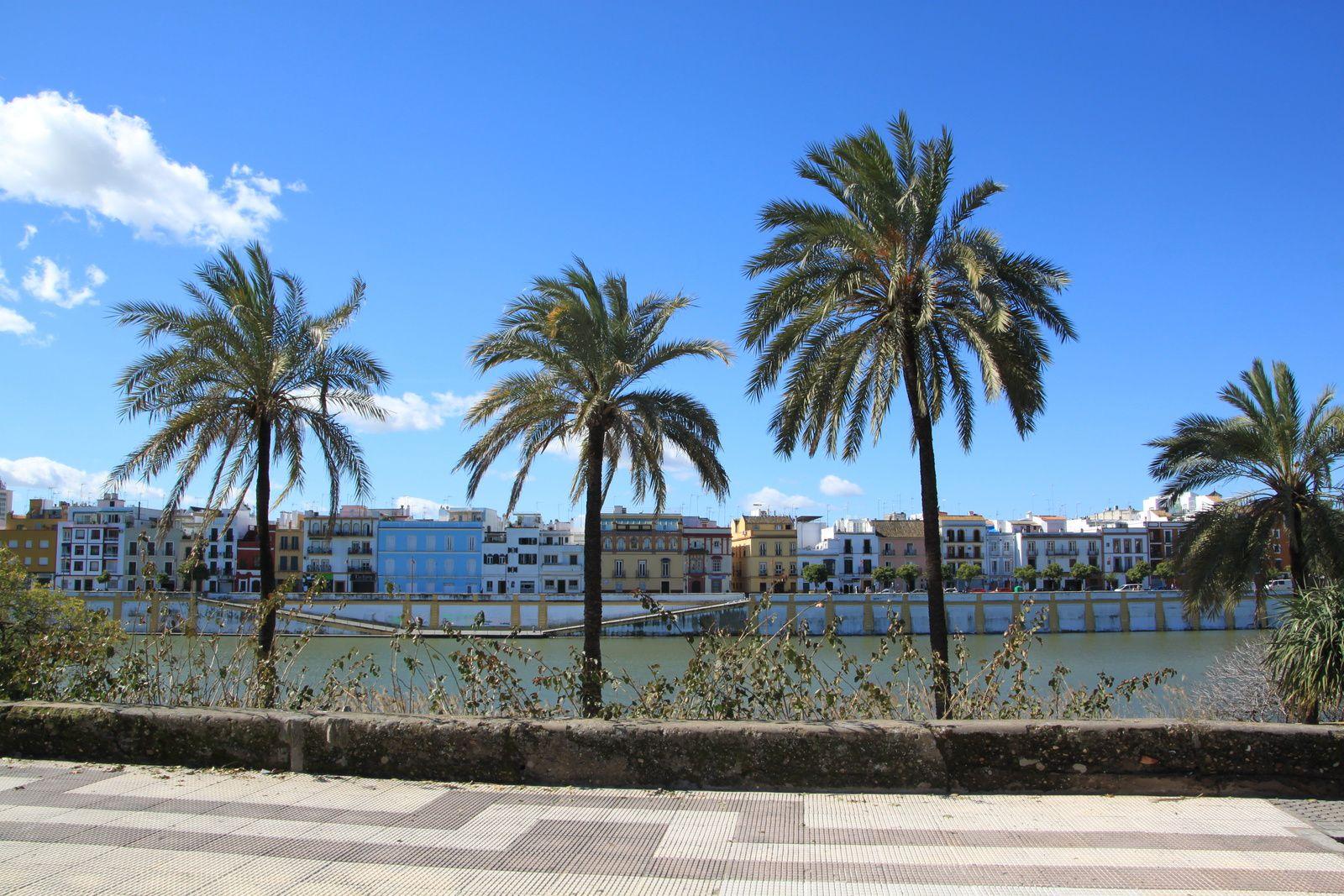 Instant photo à Séville, Espagne