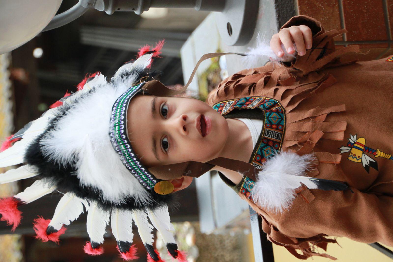 Costume de Will, Chef Indien, bon la doudoune a été nécessaire malgré les sous-couches =^^=