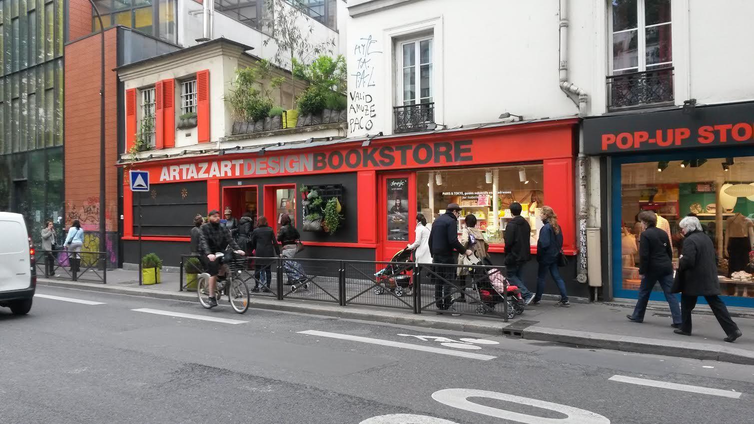 Photos du web Siseng, dans le 10e arrondissement, et la boutique Artazart