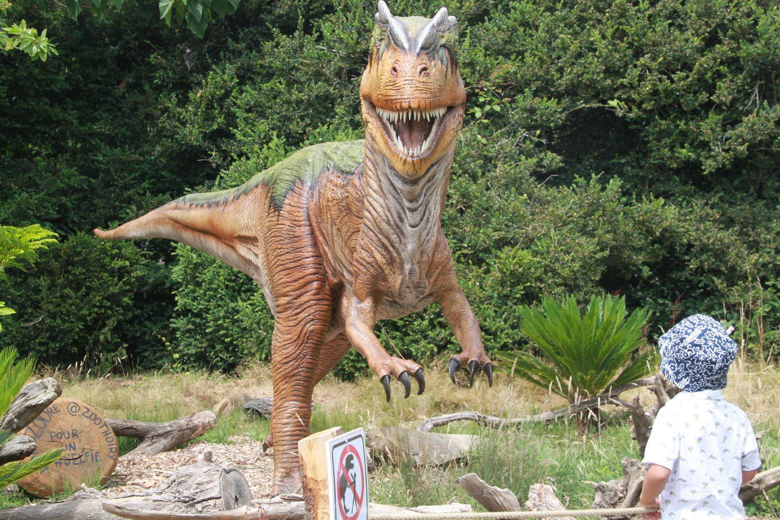 Exposition de dinosaures à Thoiry