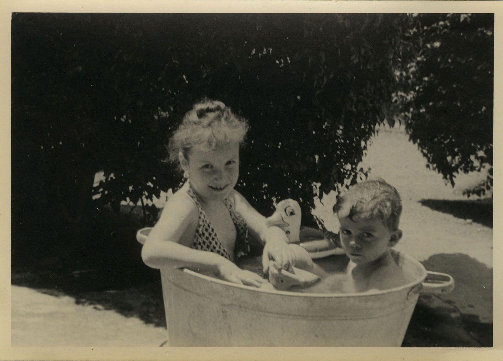 Le bain avant... =^^=