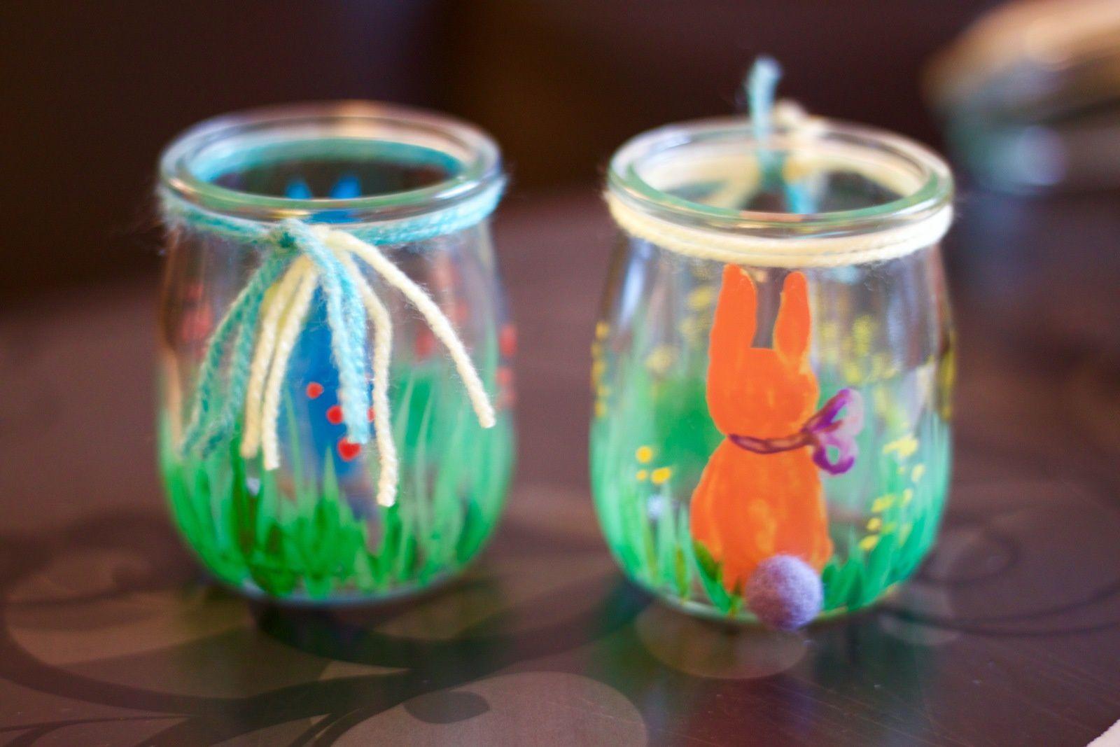 Un lapin se cache sur ce pot...
