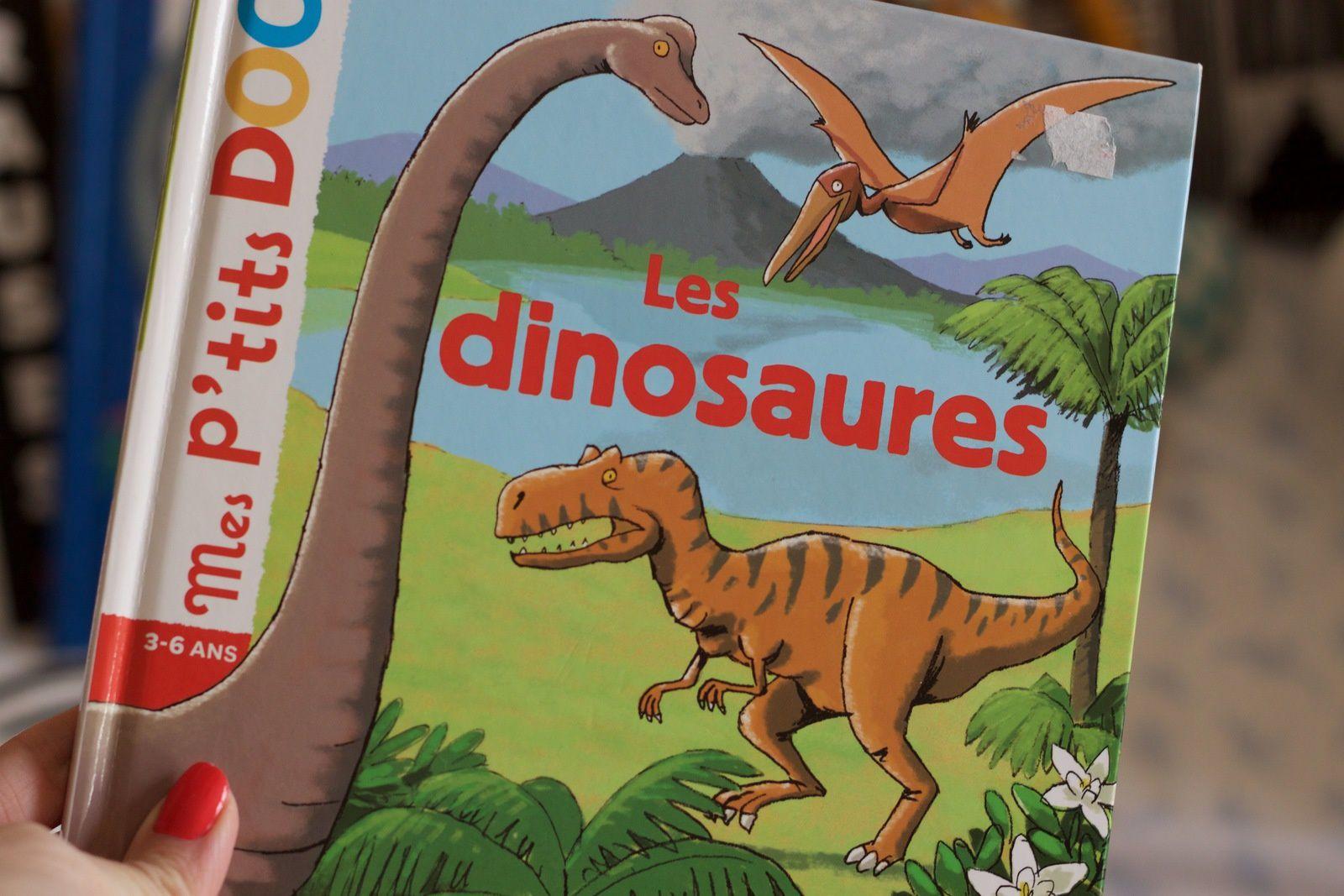 Où est mon dinosaure, et Les p'tits docs: Les Dinosaures