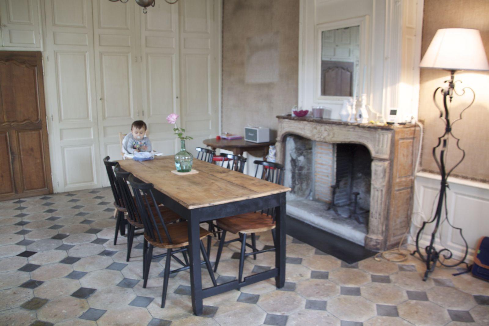 Inside ...chambre de William, salon et salle à manger