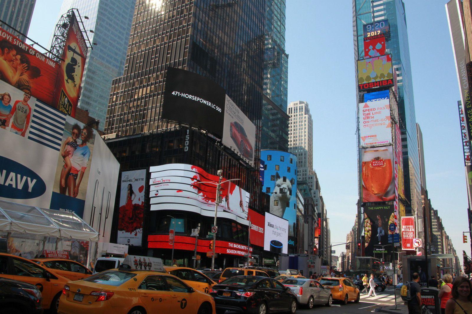 Times Square et quartier des thêatres...NYC by night