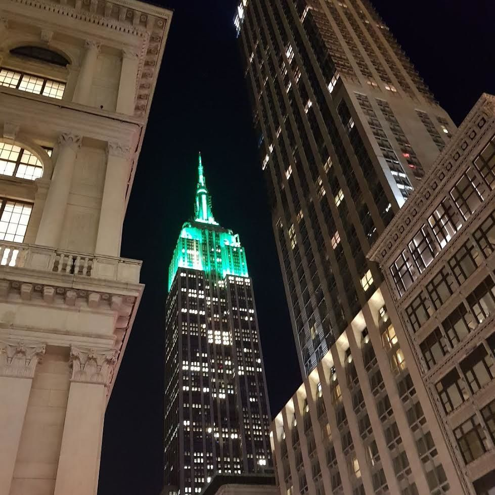 Roof Top et NYC by night