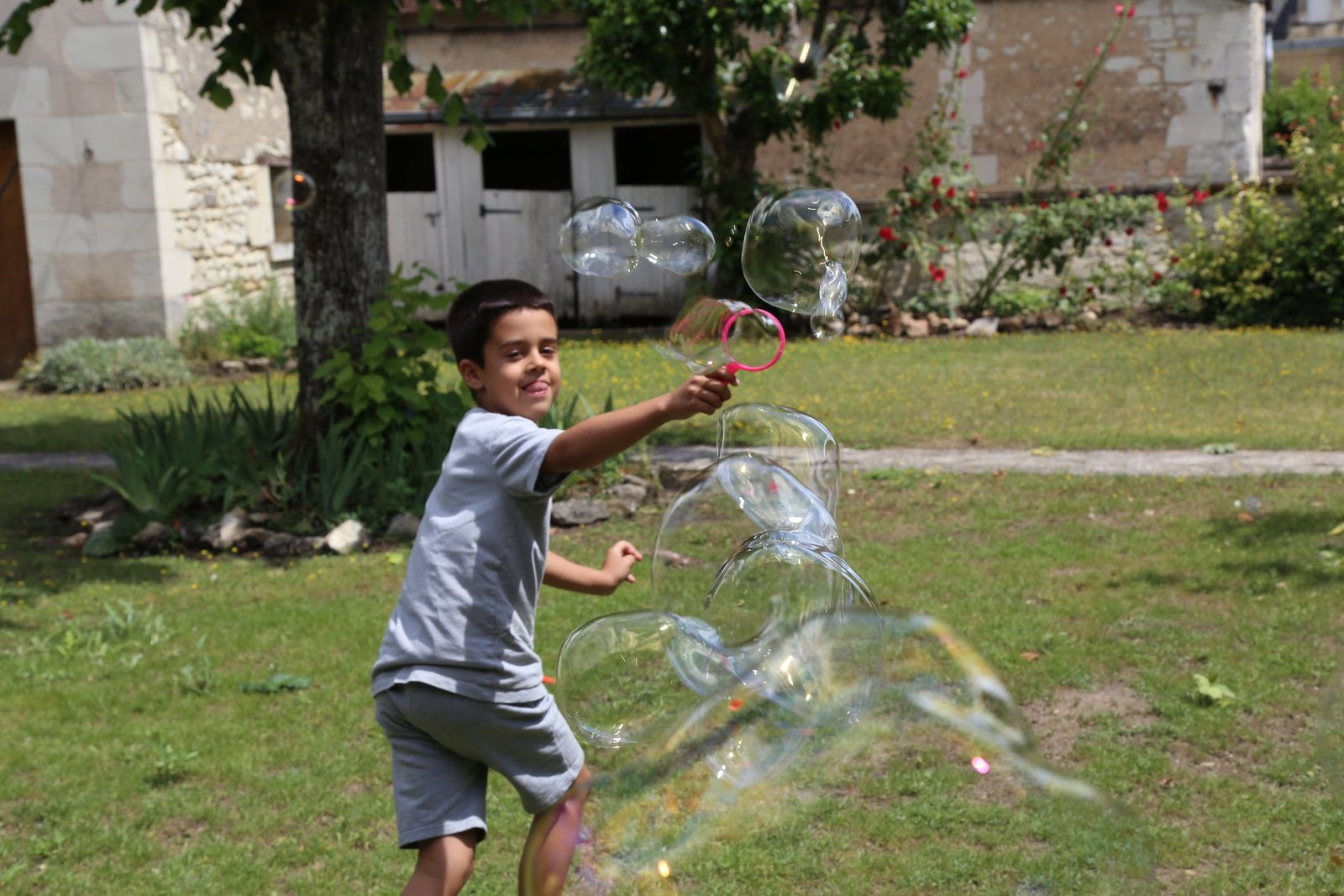 Faire des bulles...