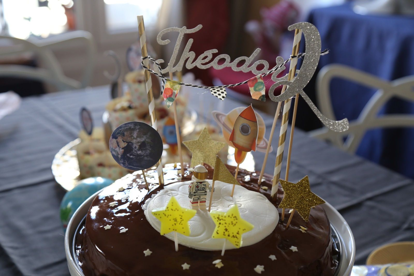 Gâteau au chocolat de l'espace....