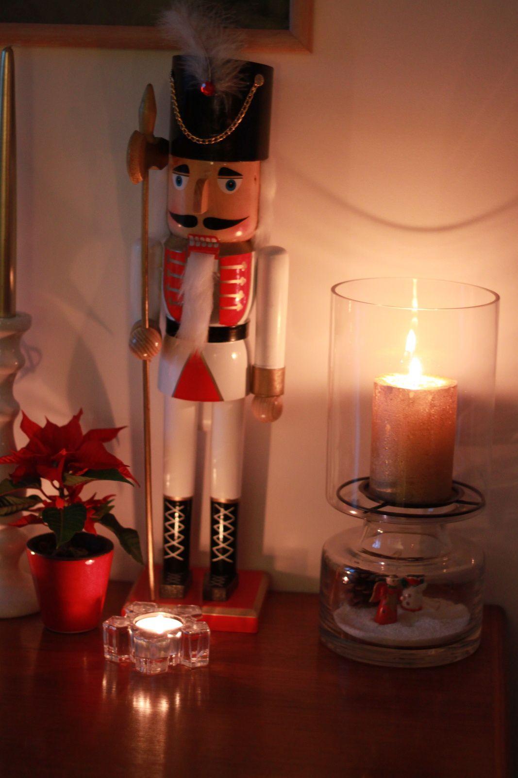 Ambiance bougies...Noël approche!!! ^_^