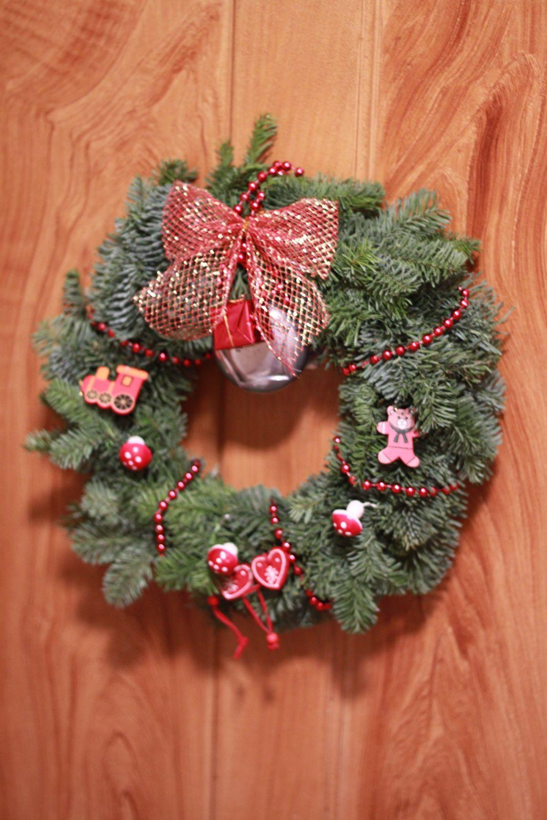 Noël de la porte au salon...!