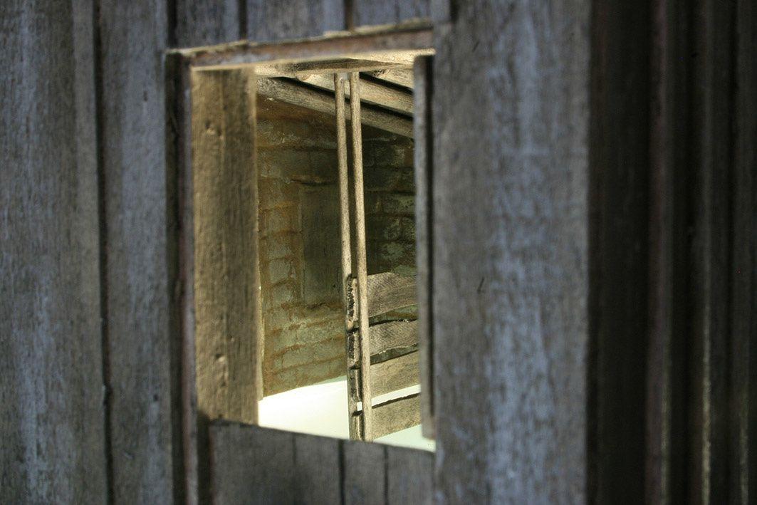La grange de la petite maison dans la prairie (maquette)