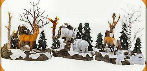 Woodland Animals At Cliff's Edge    52816    1999-2001