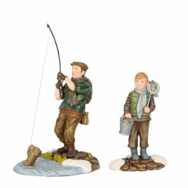 603018 Fred and Sam fishing set of 2