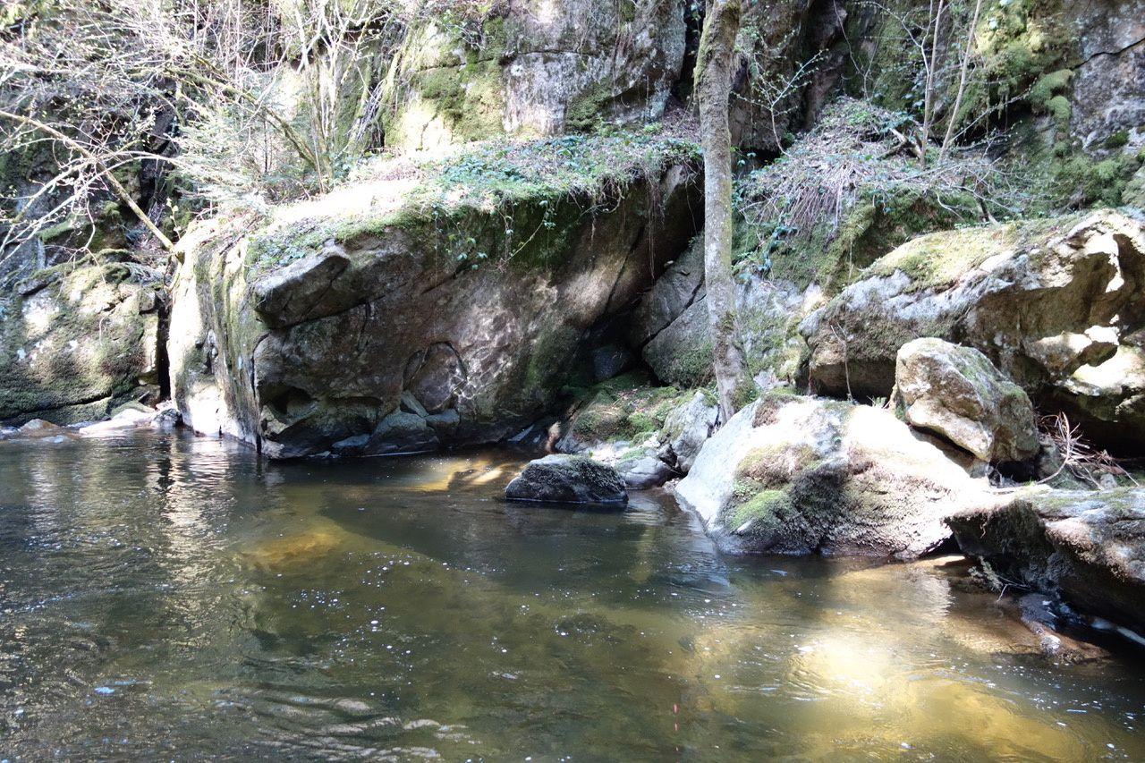 La Dunières au pont de la vache - parcours aval (43)