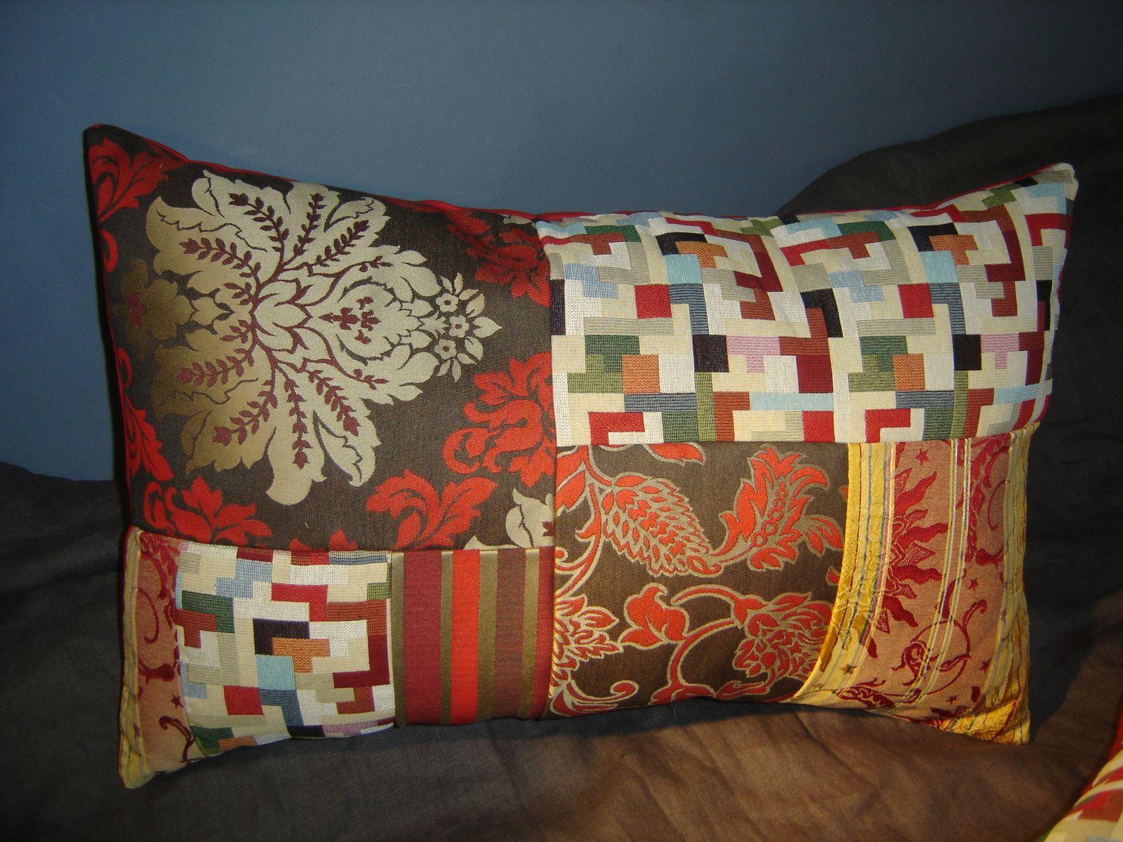 Esprit vintage en automne la compagnie du patchwork for Beaux tissus d ameublement