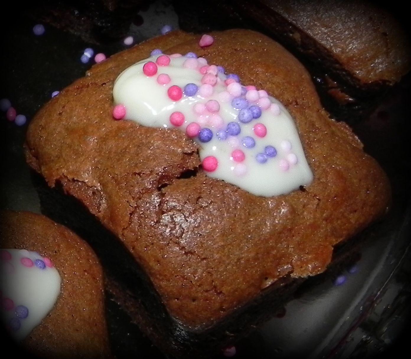 mini brownies aux noix de pécan