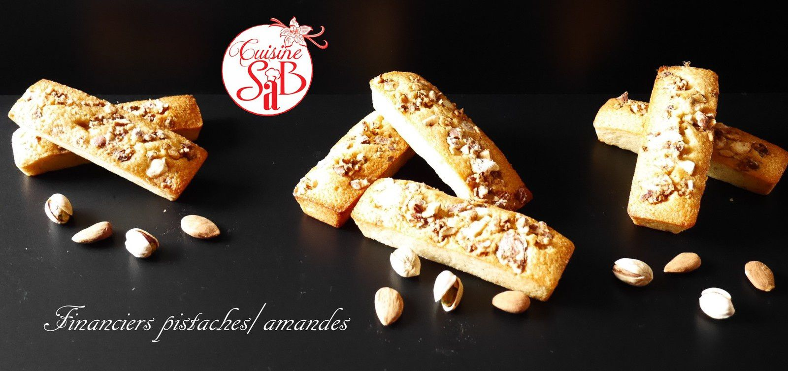 Financiers pistaches/amandes