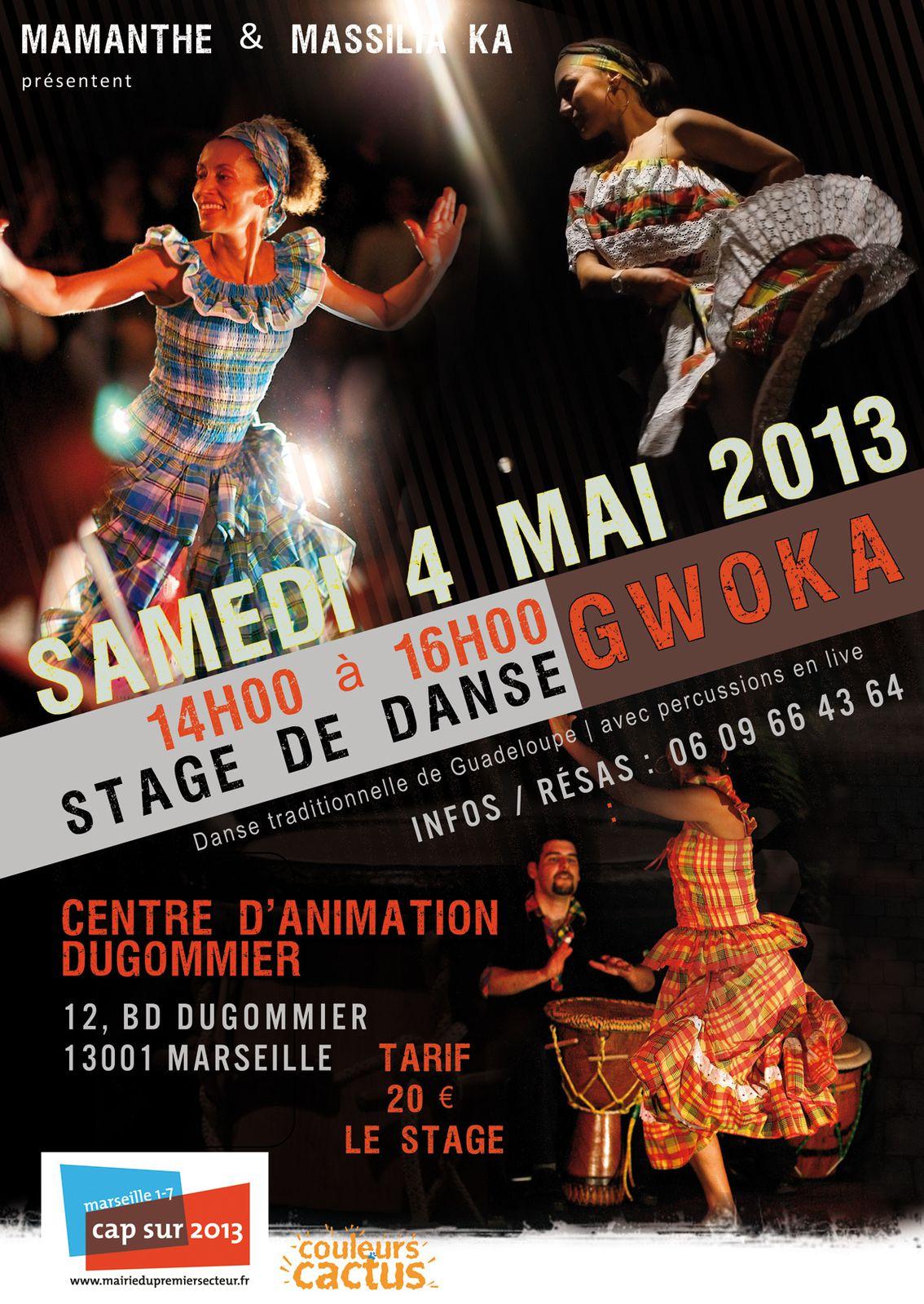 04/05/13 - Stage de danse Gwoka (Guadeloupe) - Marseille
