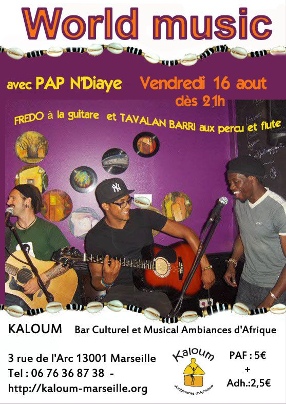 16/08/13 - World Music - Marseille