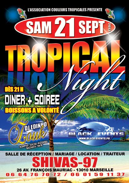 21/09/13 - Tropical Night - Marseille