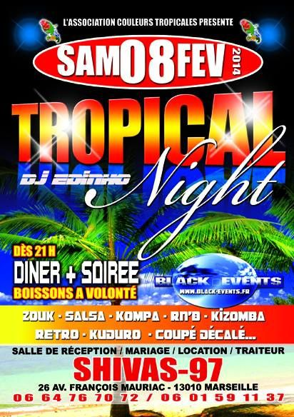 08/02/14 - Tropical Night - Marseille