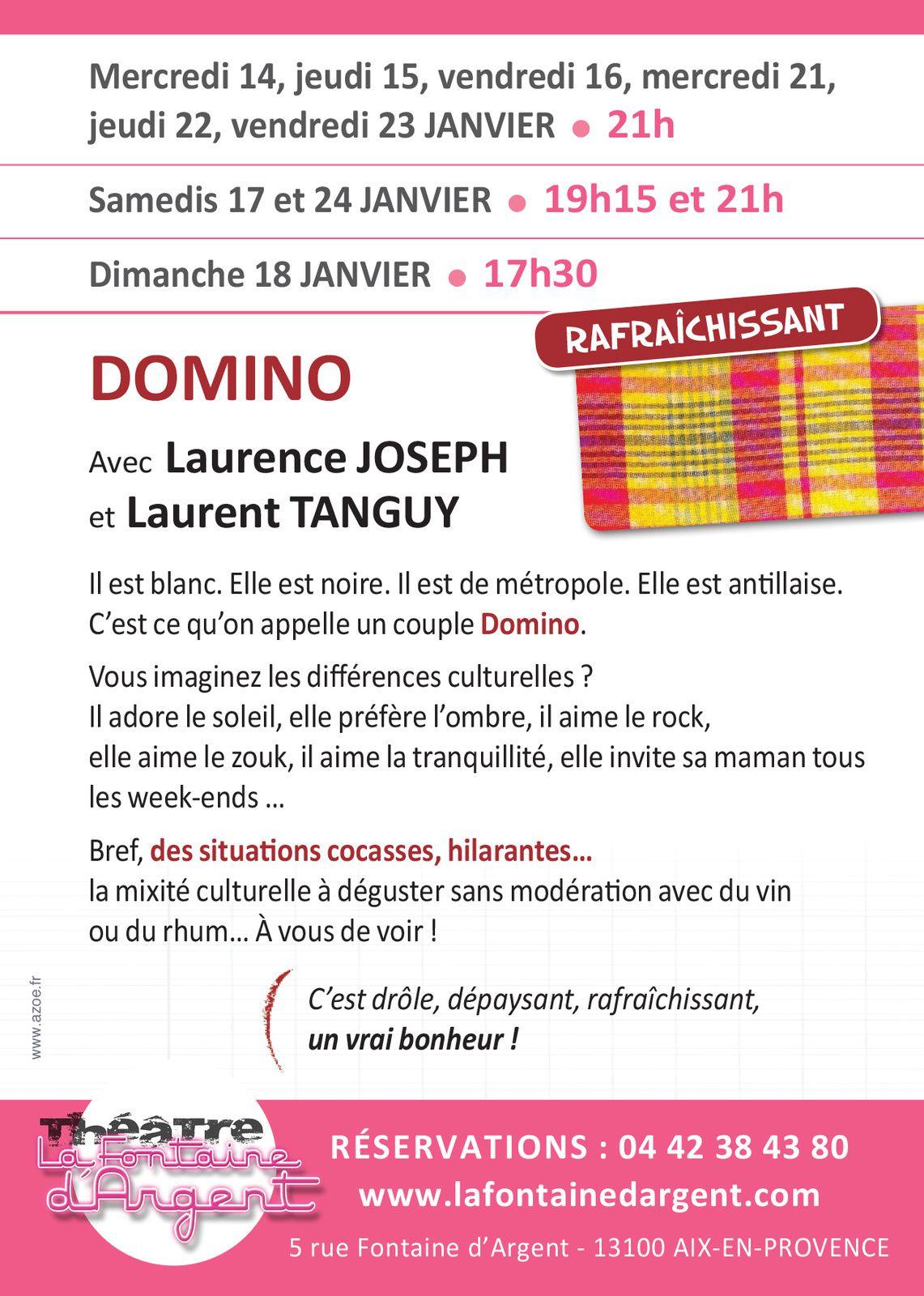 Du 14 au 24/01/15 - Domino - Aix en Provence