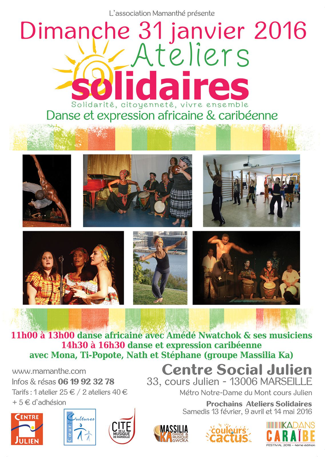 31/01/16 - Ateliers solidaires - Marseille
