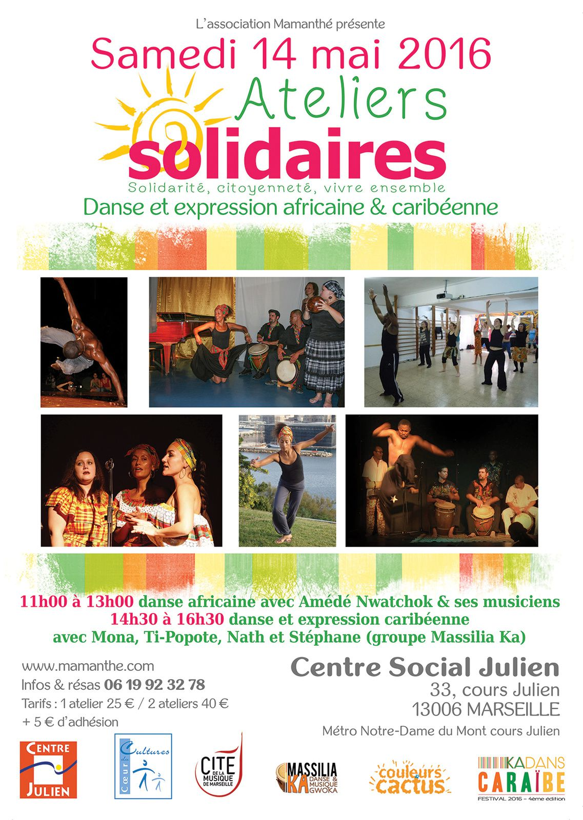 14/05/16 - Ateliers solidaires - Marseille