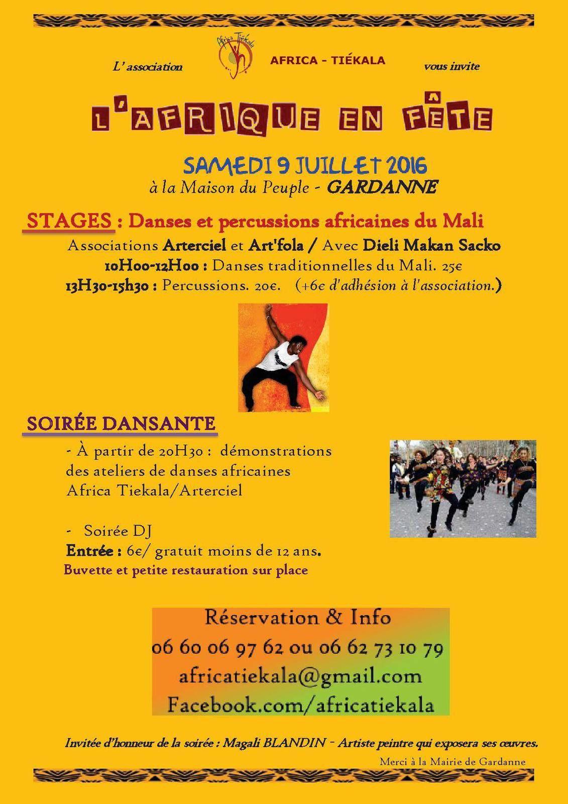 09/07/16 - L'Afrique en fête - Gardanne